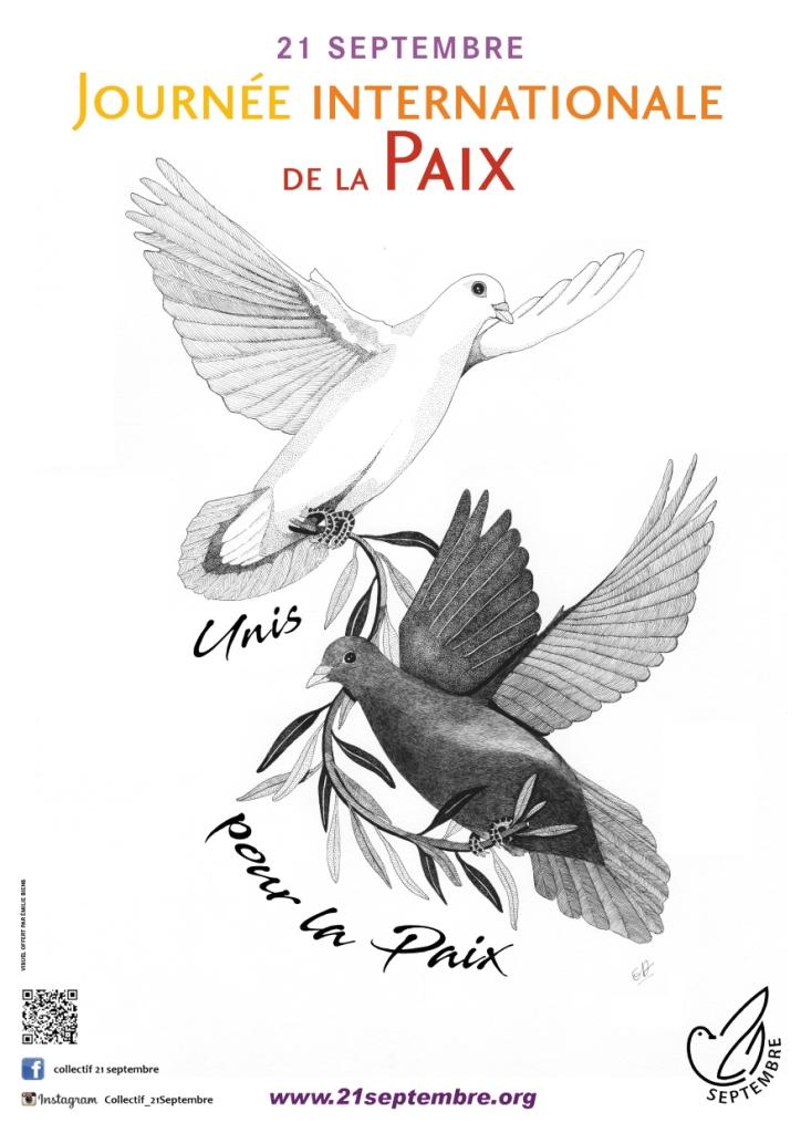 Affiche de la Journée Internationale de la Paix 2018