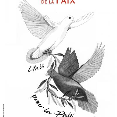 L'affiche de la Journée Internationale de la Paix 2018