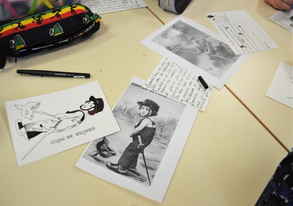 Observation d'objets et réalisation de cartes postales