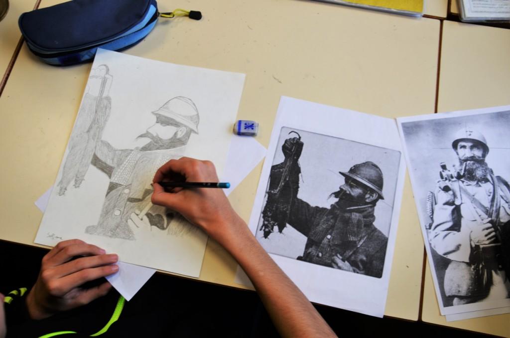 """Découverte du dessin """"classique"""" à l'aide de documents iconographiques"""