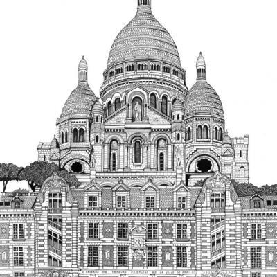 Caserne Montmartre BSPP - Oeuvre réalisée pour les Sapeurs Pompiers de Paris