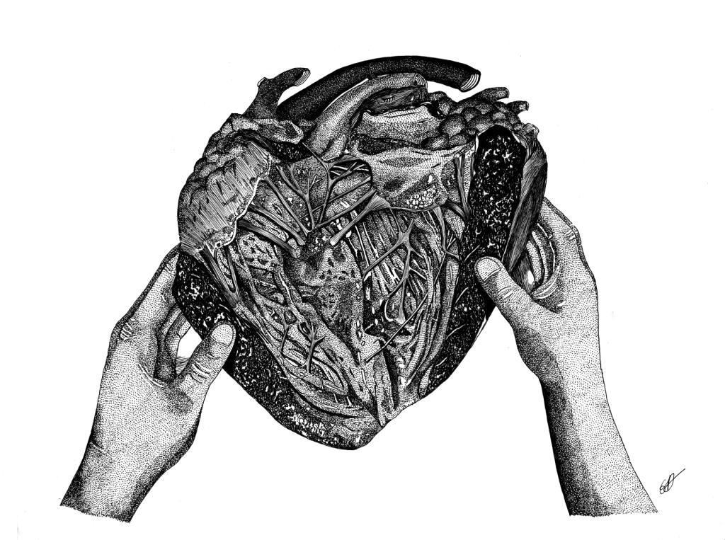 A coeur ouvert - Original disponible - Reproductions bientôt