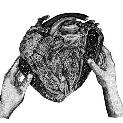 A coeur ouvert - Original disponible - Tirages bientôt