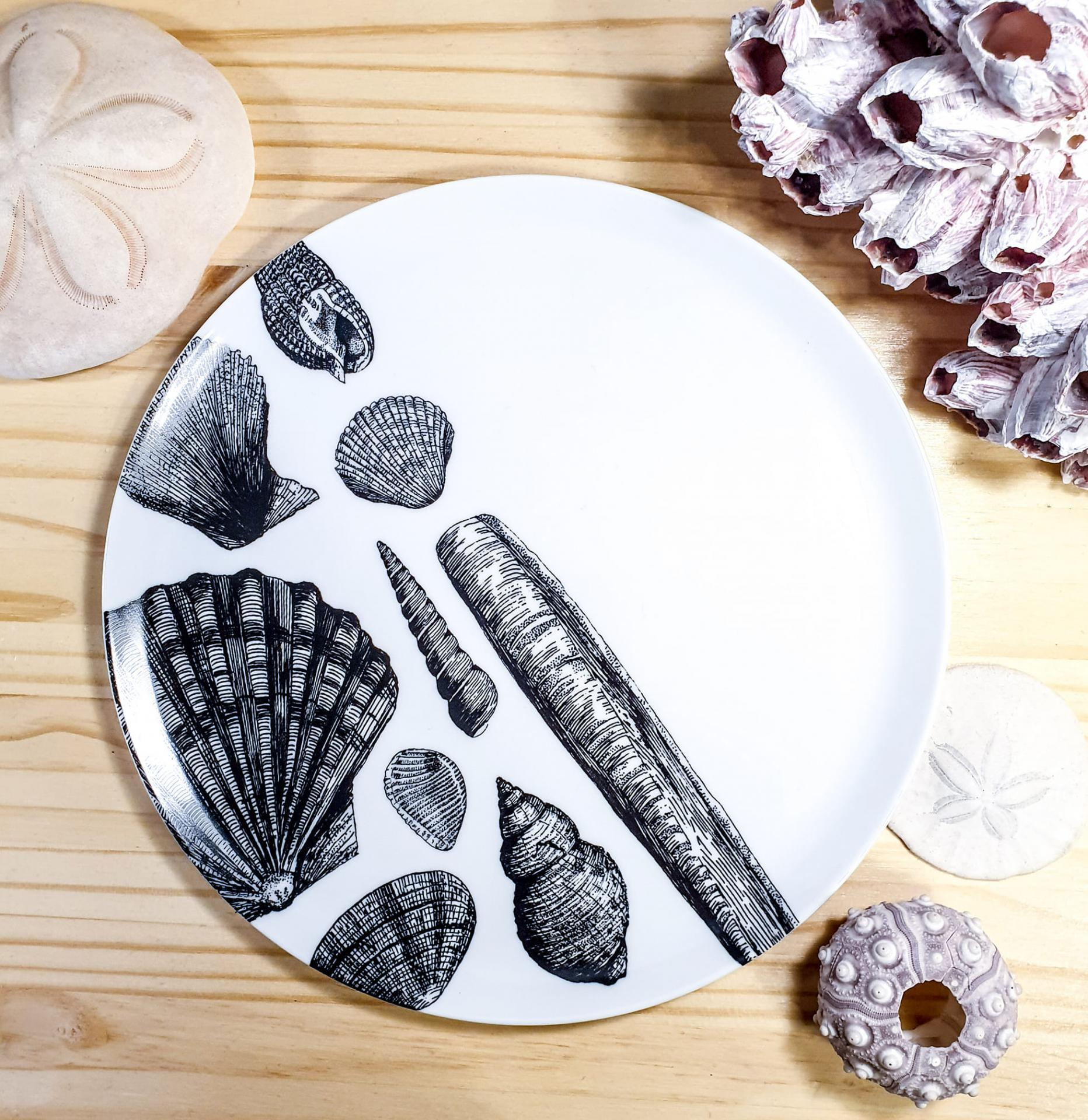 Assiettes coquillages