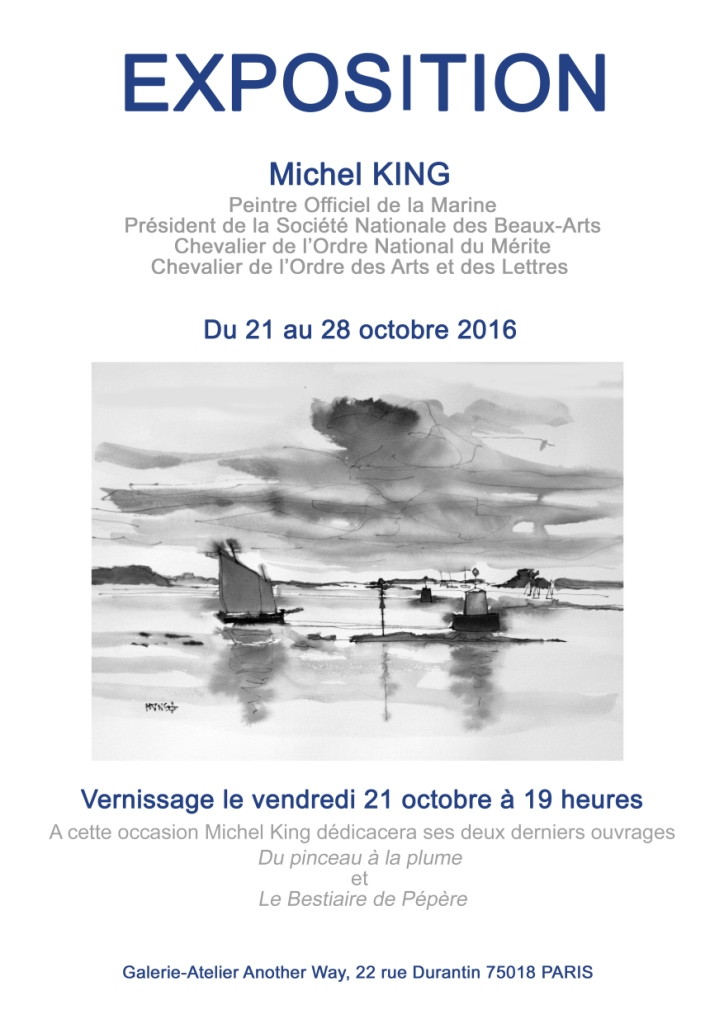 Affiche m king copie