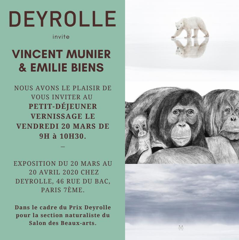 Invitation deyrolle