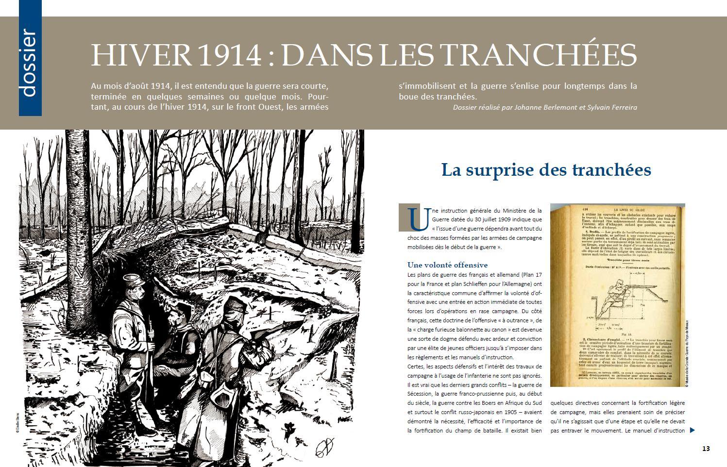 Extrait du Mag du Musée de la Grande Guerre.
